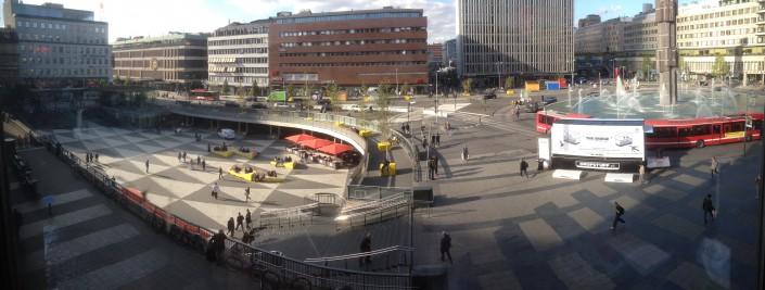 Panorama van THE BRIDGE in Stockholm