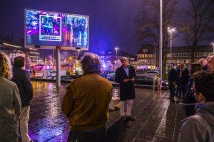 Wimar Jaeger bij de opening van The Bridge Hilversum - 2015