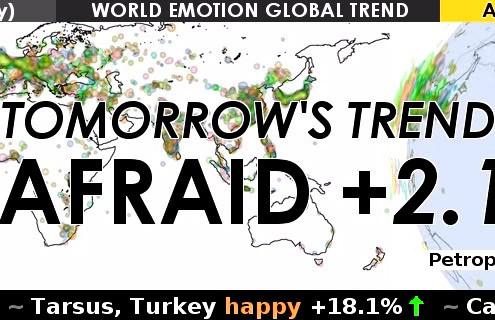 Maurice Benayoun & Robin Gareus – Emotion Forecast