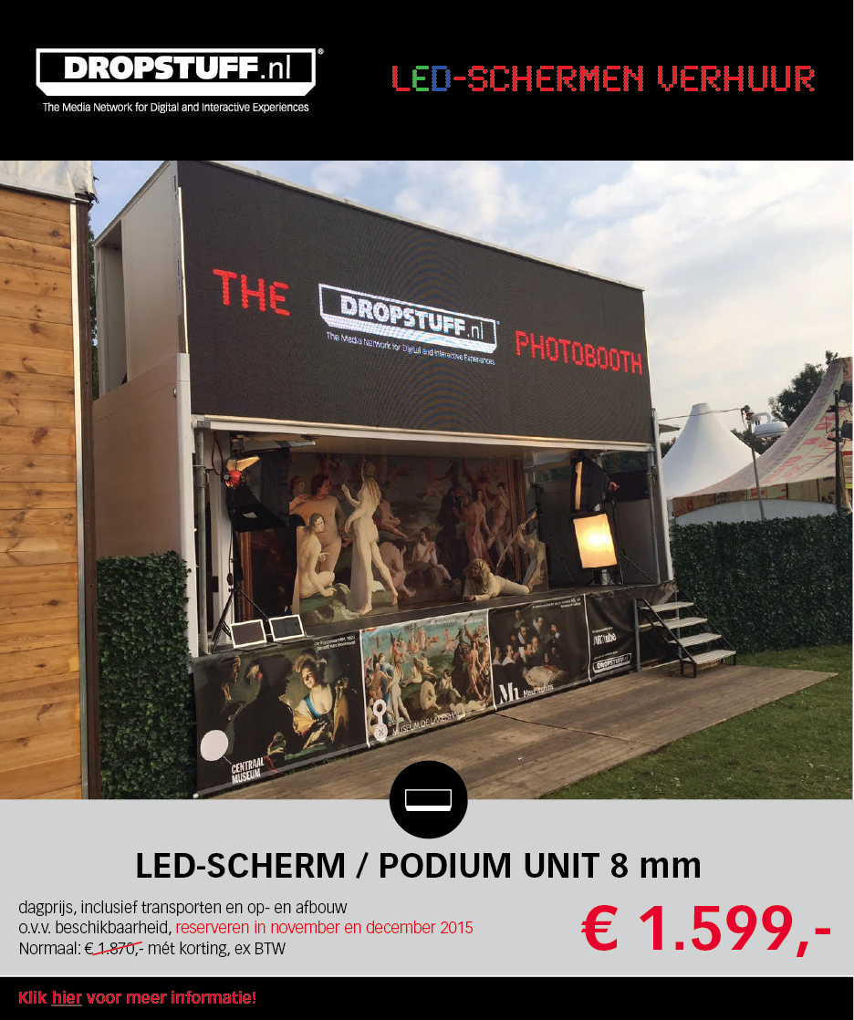 LED SCHERM HUREN?