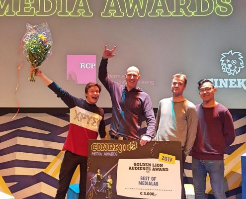 Winner of the Golden Lion Audience Award Cinekid Festival 2017