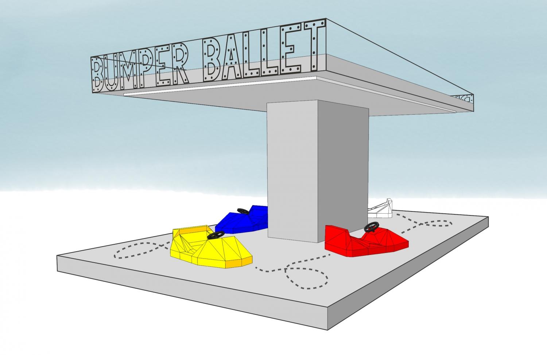 The original concept art of Bumper Ballet