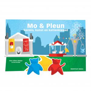 Voorkant Mo & Pleun - Kermis, Kunst en Kattenkwaad