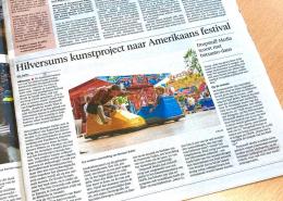 Hilversums kunstproject naar Amerikaans festival - 20 februari 2020